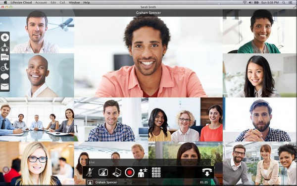 Videokonferenzsysteme Lifesize Cloud Gruppenmeetings Videokonferenz
