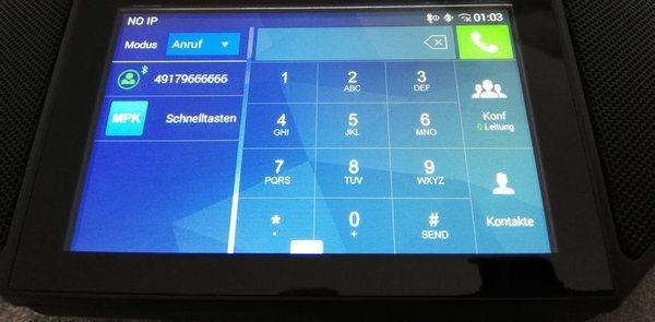 HD Tischmikrofon USB Bluetooth Konferenztelefon